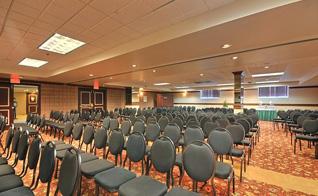 Salle de réunion et banquet à l'hôtel de Gatineau